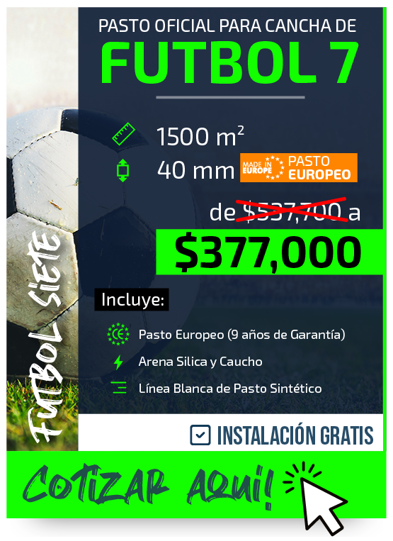Construccion Cancha Futbol 7